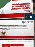 OCDE Tendinte economice