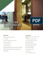 Estatisticas APAV Relatorio Anual 2013