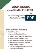 Hukum Acara Peradilan Militer
