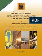Description Reseau Transport Tarifs Transport Annee 2016