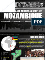 Social Dynamic and Urban Conflict - Case Study at Mozambique (Presentation Board)