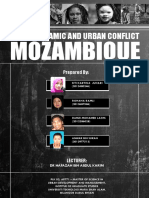 Social Dynamic and Urban Conflict - Case Study at Mozambique (Report)