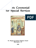 Acolyte Ceremonial for St. Gregorys