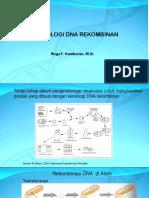 Teknologi DNA Rekombinan Ppt