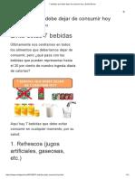 7 Bebidas Que Debe Dejar de Consumir Hoy _ Salud Genial