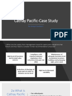 Cathay Pacific-Case Study- Section C Group 8