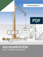 Steine Ks Xl-Verarbeitungsrichtlinie 2006