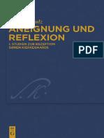 Aneignung Und Reflexion Studien Zur Rezeption Soren Kierkegaards Kierkegaard Studies Monograph Series