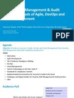 Sukumar Nayak-Agile-DevOps-Cloud Managment Slides