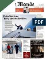 Magazine Le MONDE Du 3 Mars 2018
