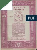 Rosicrucian Initiation (1935)