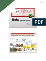 Ebola - 2 Slides