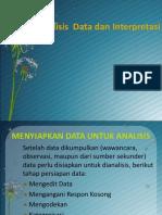 Analisis Dan Interpretasi Data