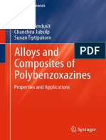Alloys and Composites of Polybenzoxazines - Properties and Applications (2013)