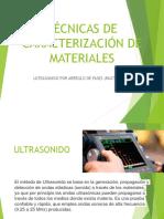 TECNICAS DE CARACTERIZACION DE MATERIALES