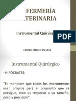 1.2.1 Instrumental Quirúrgico en Veterinaria