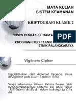 Materi Sistem Keamanan 3 Kriptografi_Klasik2(Gnp 2017 2018Ok)