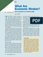 Research Economic Models