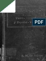 Diccionario de Bolsillo Vasco-español Español-Vasco