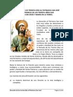 Devoción de Los Treinta Días Al Patriarca San José