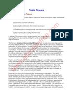 Public Finance Notes PDF (1)