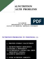 1malnutrition as Health Problem