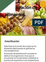 Esterilizacion de Alimentos