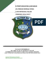Laporan Pertanggung Jawaban Pmr 2017