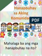 Mga Hanapbuhay Sa Aking Komunidad