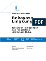 Modul Rekayasa Lingkungan - 01. Isu Lingkungan (18 Maret 2016)