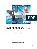 Yamaha Feeder Calibration Machine