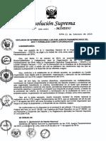 RS 006-2015-MINEDU Declaratoria de Interes Panamericanos 2019