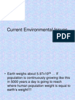 Unit6-Current Environmental Issues & Global Warming