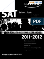 Kaplan 2012 SAT Subject Test US History - Practice Test 1