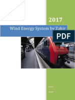 Wind Energy System by Zahir Zairi