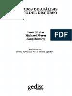 Wodak Ruth Y Meyer Michael - Metodos De Analisis Critico Del Discurso.pdf