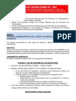 Orden de Operaciones Nº. 004 (1)