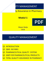 Modul-1 Quality Management 2018