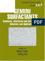 PPT-B-Gemini Surfactants Synthesis, Interfacial and Solution-Phase Behavior, And Applications (Surfactant Science)