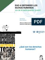 Defensores Derechos Humanos