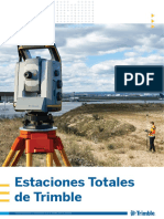 Brochure - Trimble S-Series Total Stations With SX10 - Spanish - Screen