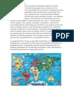 La Geografía Mundial