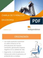 Charla Ergonomia