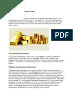 Gold Monetisation