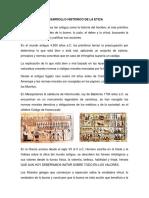 Desarrollo Historico de La Etica
