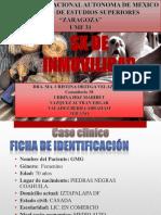 Sx de Inmovilidad Caso Clinico y Revision Del Tema
