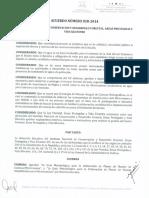 Acuerdo Para Elaboracion de PM en Cuencas y Microcuencas