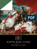 Raptis Rare Books Spring 2018 Catalog