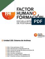 104 - Dispositivos, sistema de archivos Linux y jerarquía en el Sistema de Ficheros.pdf