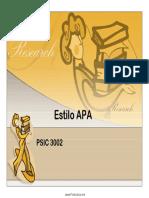 19. Estilo APA - PSIC 3002.pdf